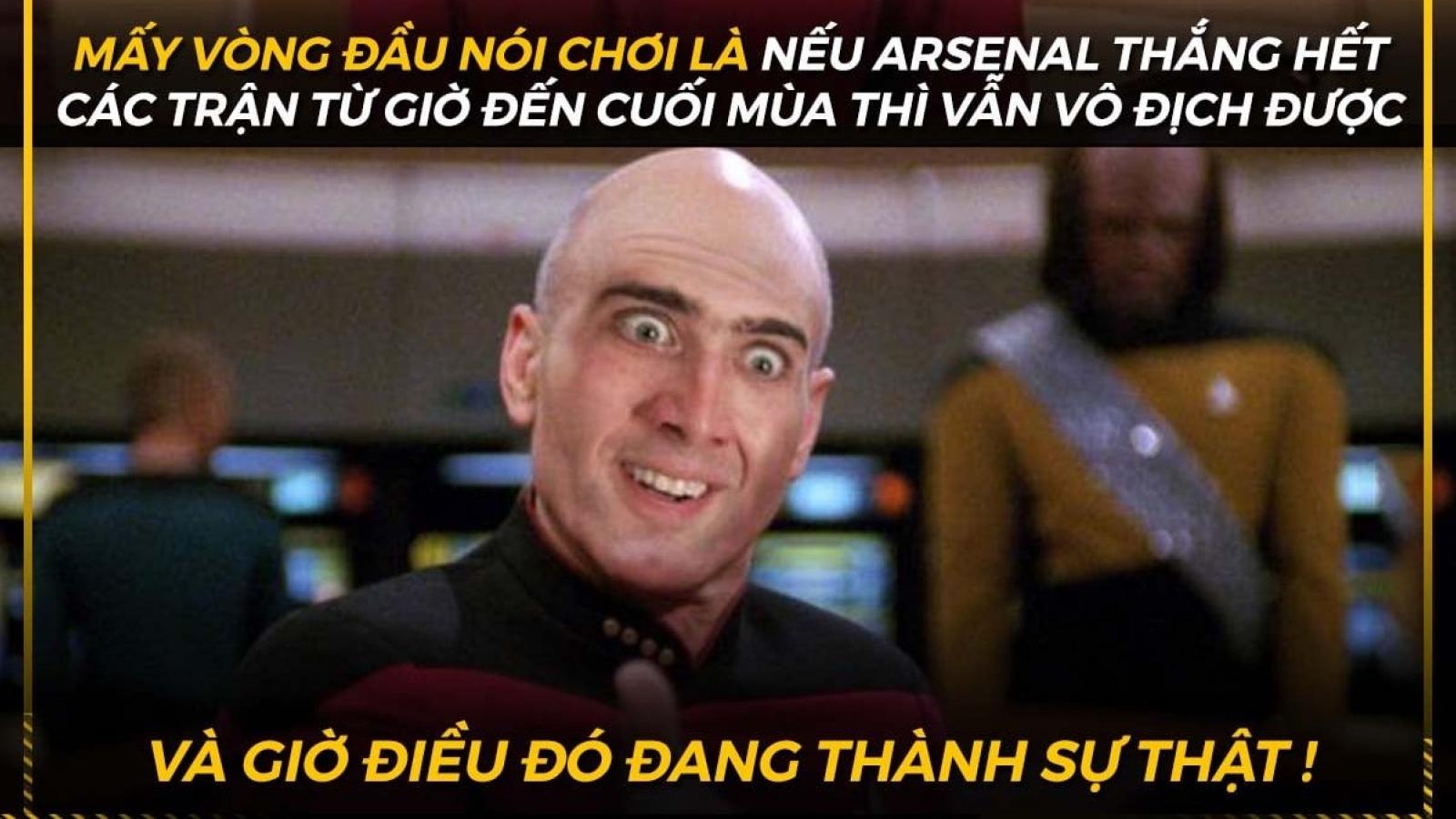 Biếm họa 24h: Arsenal đua vô địch Ngoại hạng Anh