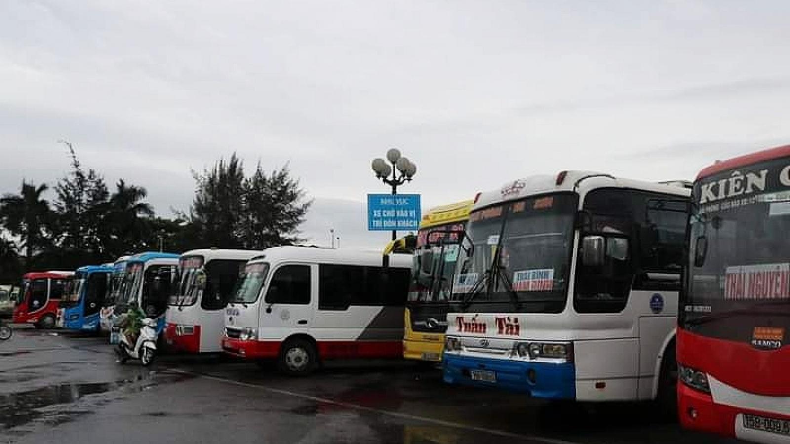 Hải Phòng tạm dừngvận tải hành khách đi Phủ Lý (Hà Nam) để phòng dịch COVID-19