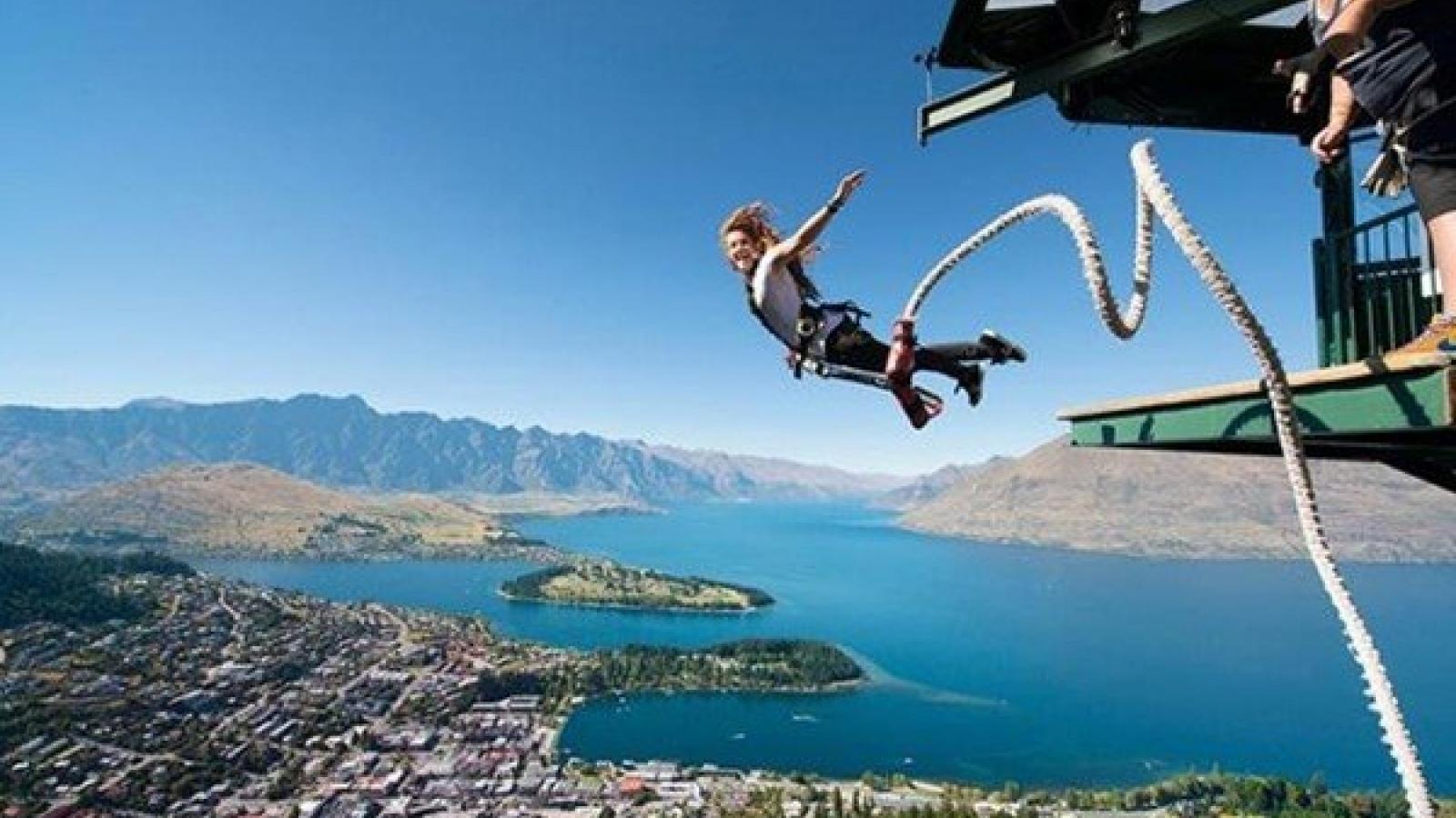 10 địa điểm nhảy bungee ấn tượng nhất thế giới