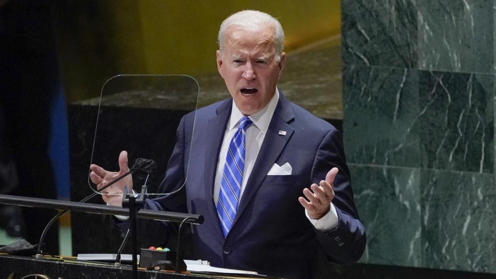 Giữa cơn giận của Pháp, Tổng thống Mỹ Biden ra sức trấn an đồng minh tại Liên Hợp Quốc