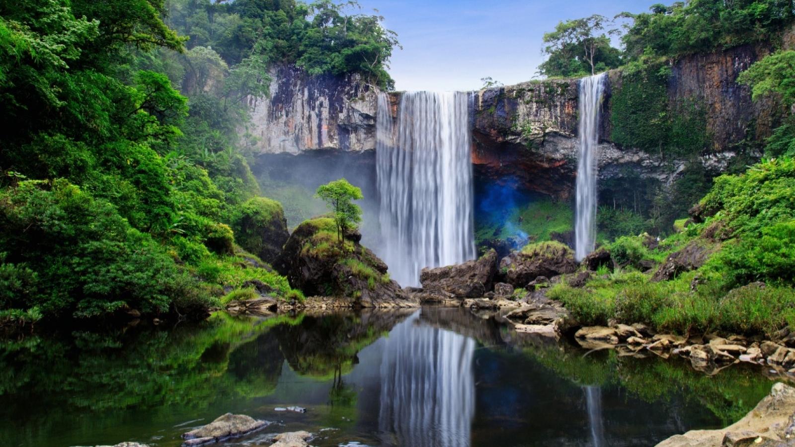 Vẻ đẹp của Khu dự trữ sinh quyển thế giới Cao nguyên Kon Hà Nừng
