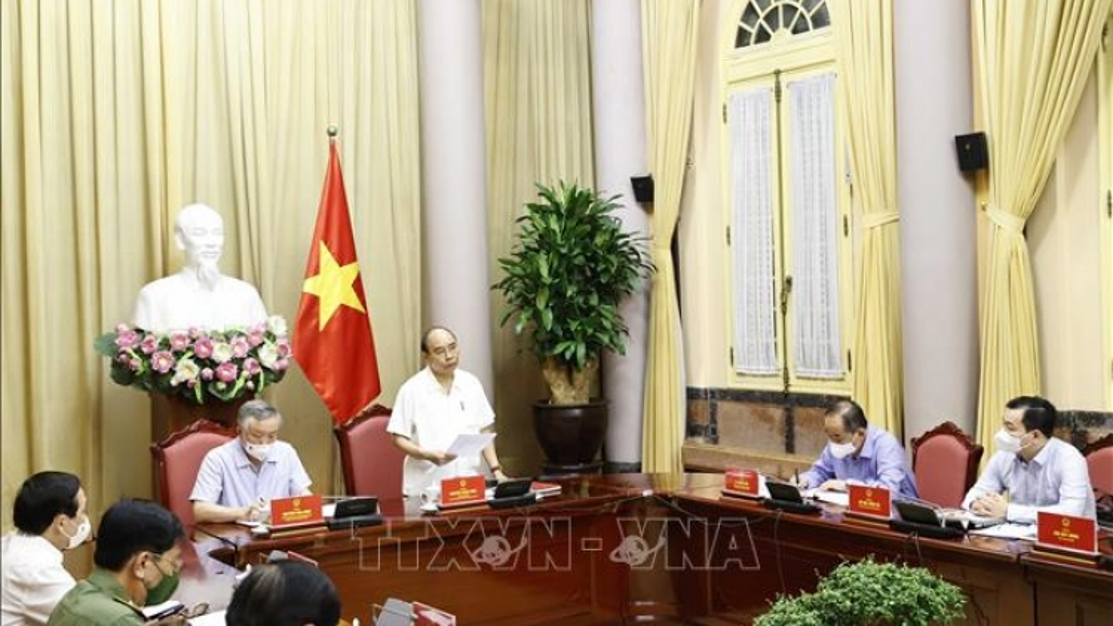 Chủ tịch nước làm việc với các cơ quan về giải quyết hồ sơ án tử hình