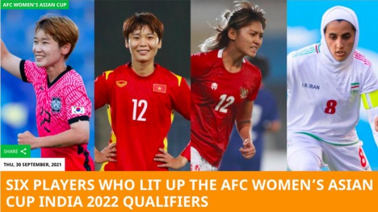 AFC hails Hai Yen's performance in Asian Cup qualifiers
