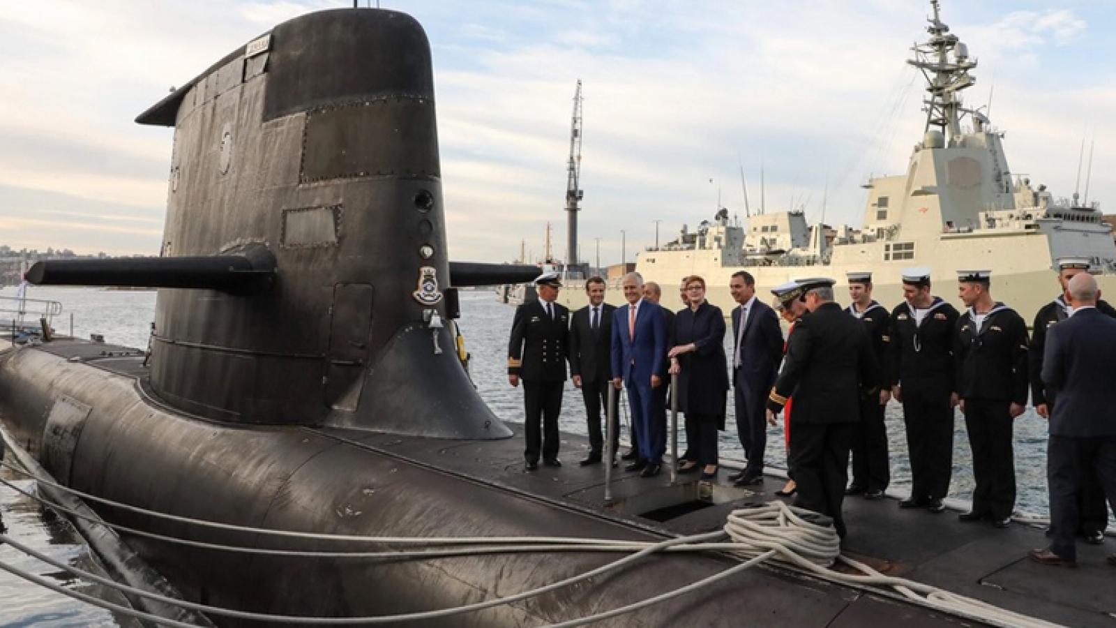 """Mỹ-Pháp: Đồng minh gay gắt với nhau sau thương vụ """"lật kèo"""" tàu ngầm"""