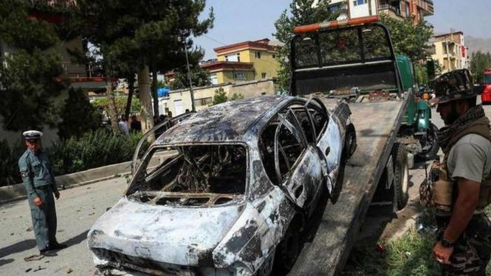 Thủ đô Kabul (Afghanistan) bị rocket tấn công