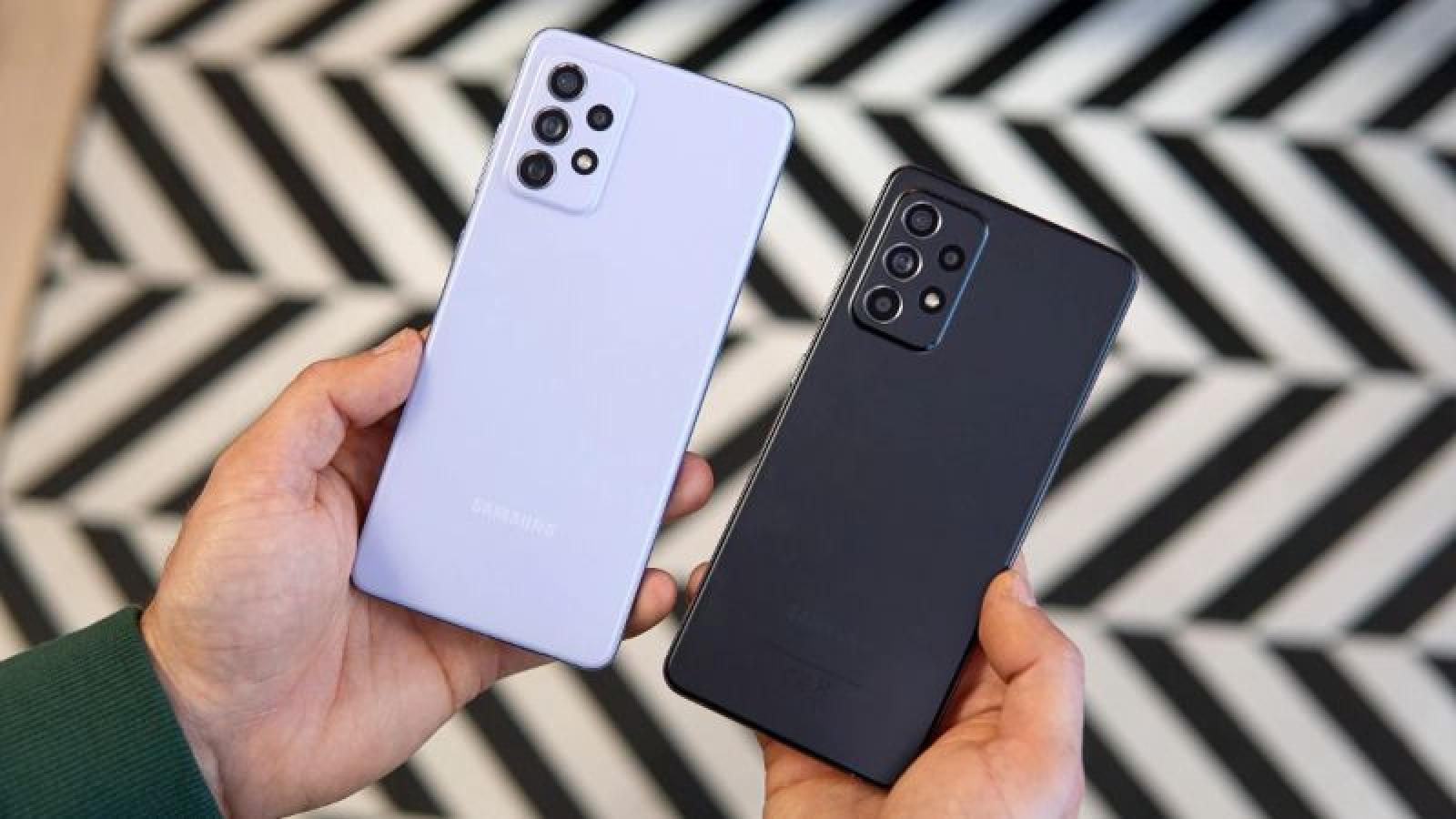 Bộ đôi Galaxy A53 và A73 lộ diện với các thông số bất ngờ