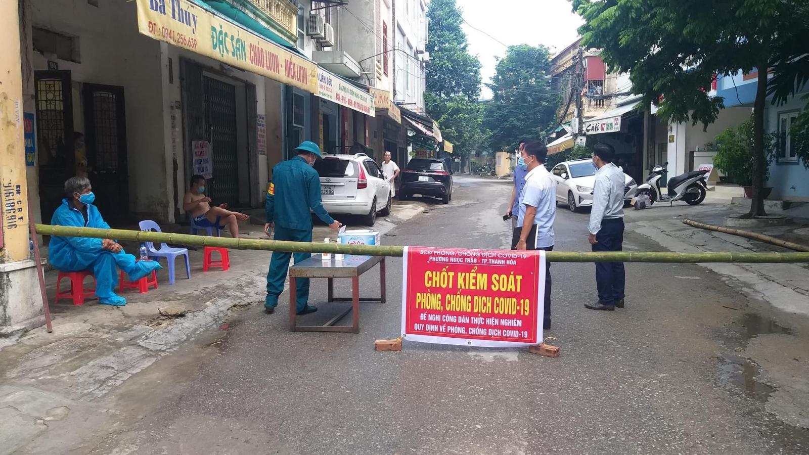 Thanh Hoá ghi nhận thêm 17 ca dương tính với SARS-CoV-2