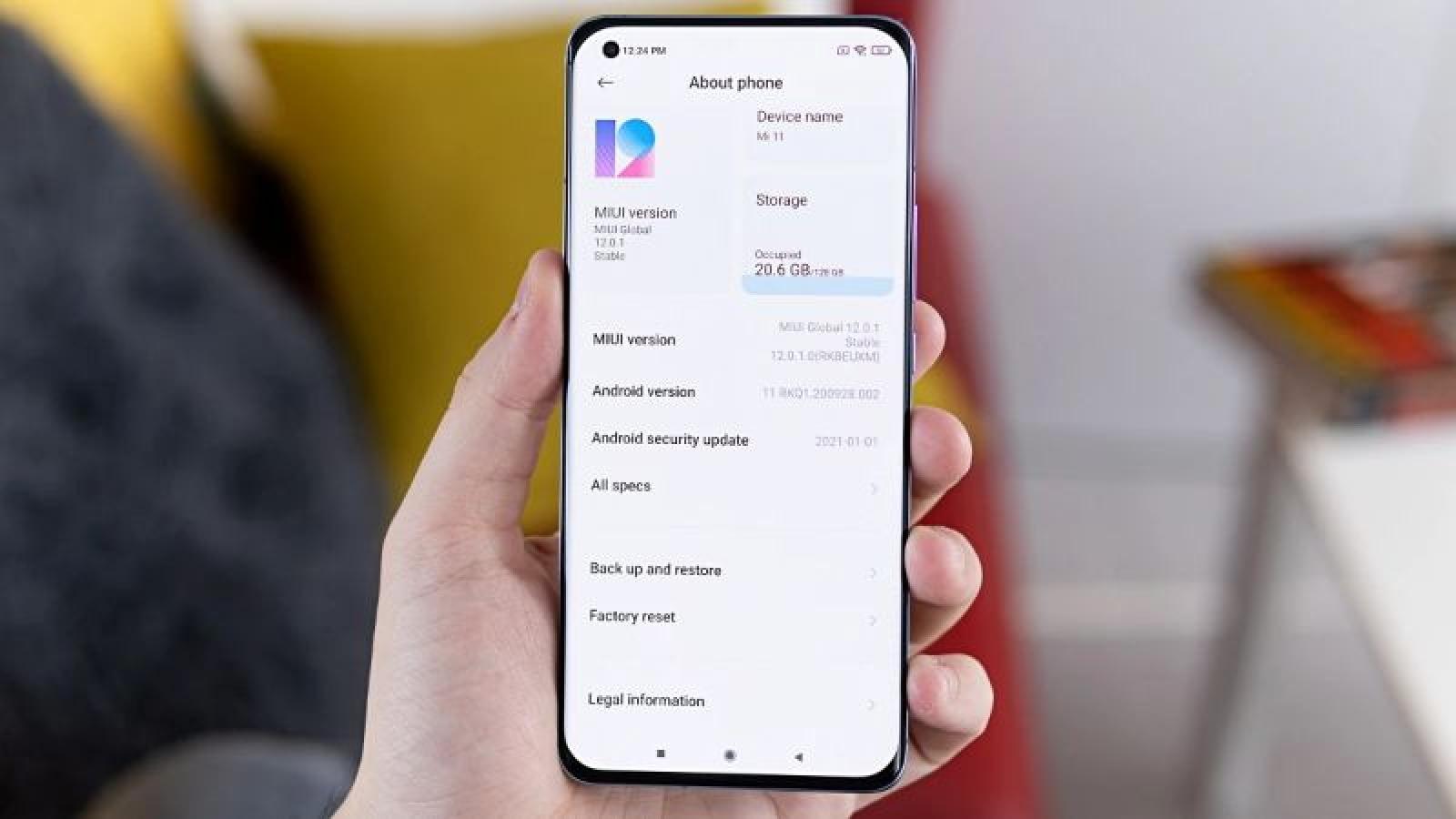 Xiaomi khóa thiết bị được kích hoạt tại các khu vực bị cấm