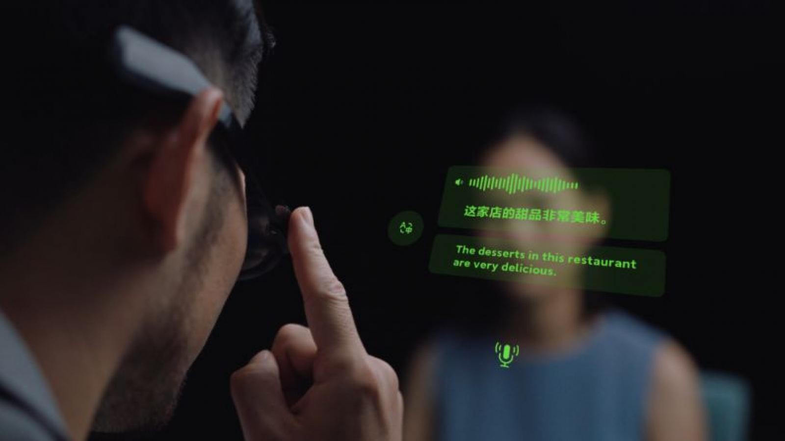 Kính thông minh Xiaomi hỗ trợ gọi điện, điều hướng và màn hình MicroLED