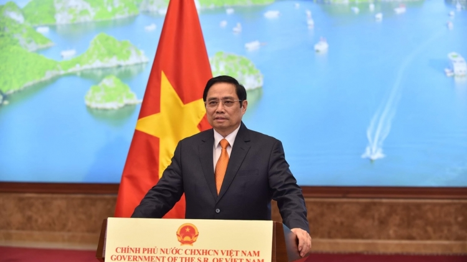 Phát biểu của Thủ tướng tại Hội nghị Thượng đỉnh Thương mại Dịch vụ toàn cầu năm 2021