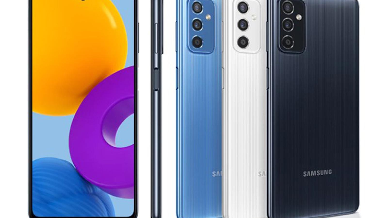 Galaxy M52 5G ra mắt với màn hình siêu mượt, giá 9,22 triệu đồng