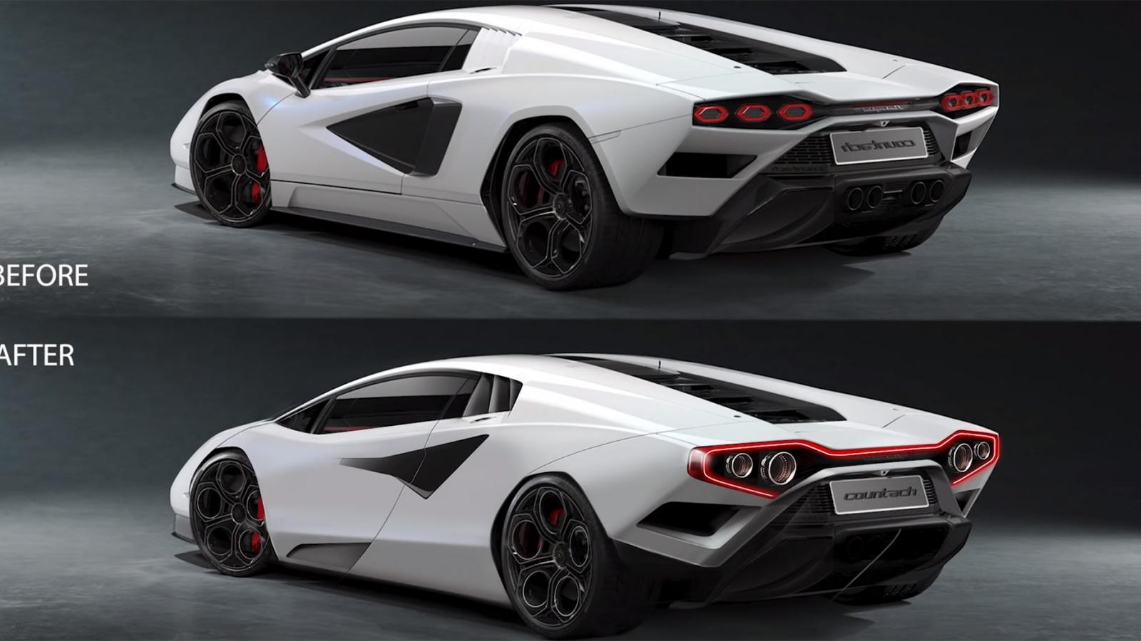 Frank Stephenson phê bình thiết kế của siêu xe Lamborghini Countach LPI 800-4 mới