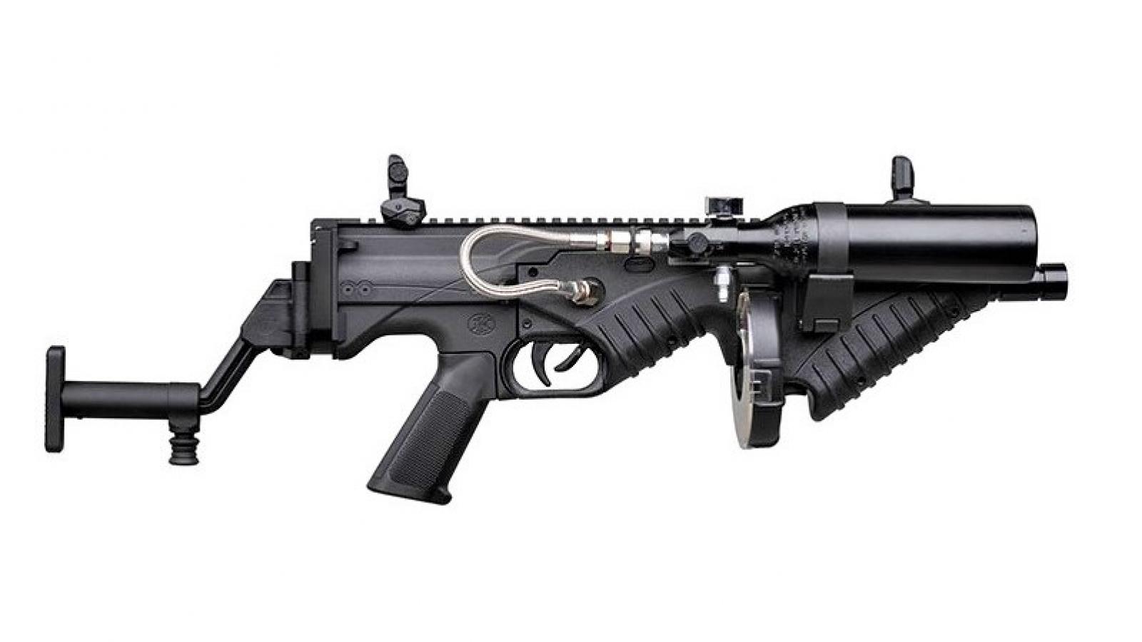FN Herstal cho ra lò súng FN 303 mô-đun mới dùng chống bạo loạn