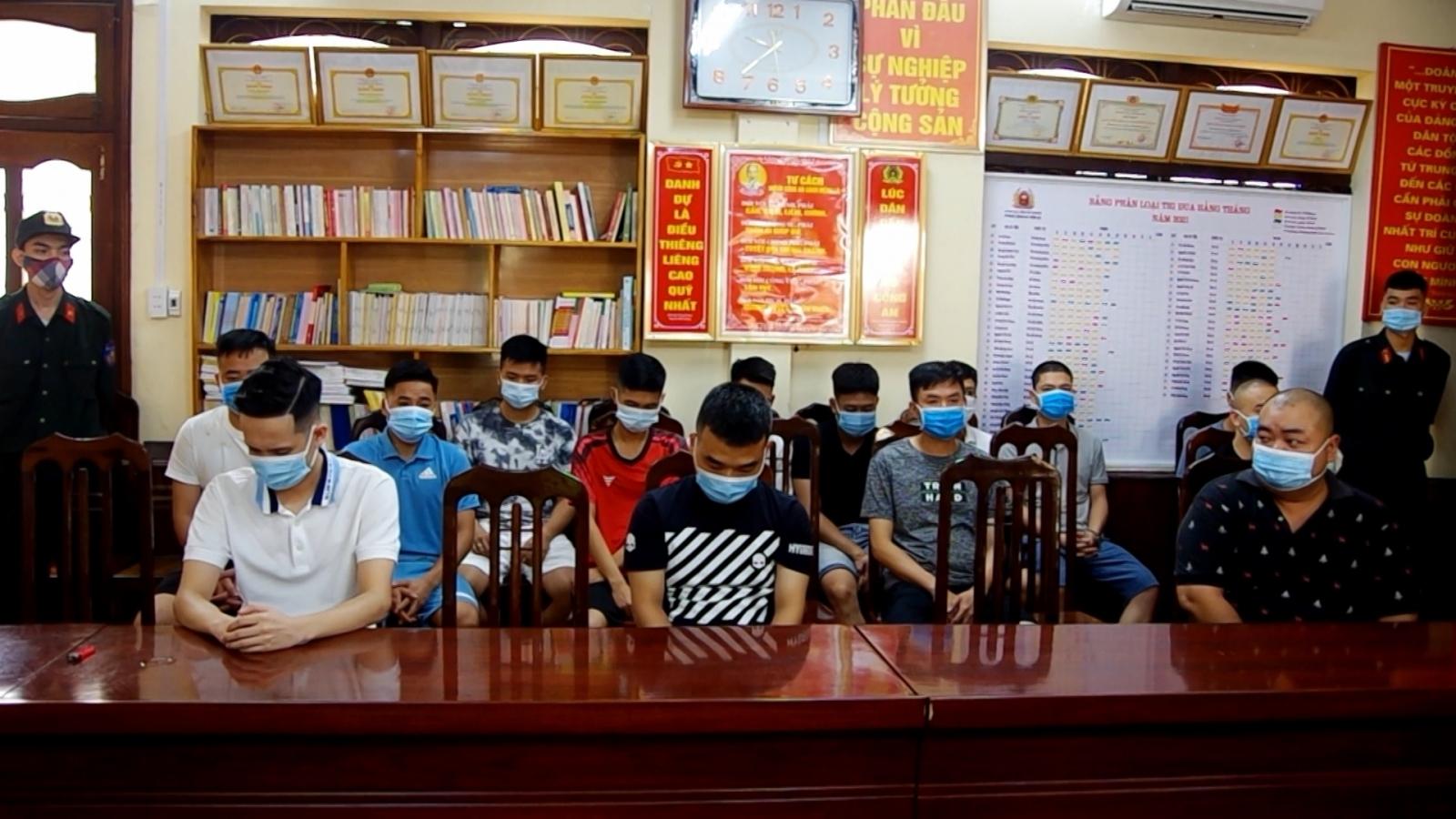 Triệt phá đường dây cá độ bóng đá giao dịch trên 200 tỉ đồng tại Hà Giang