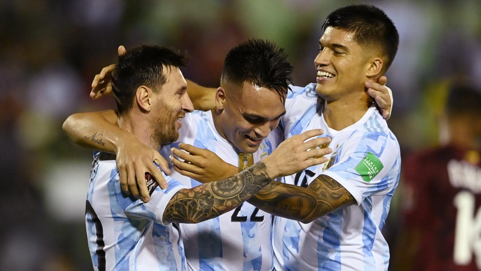 "Messi im hơi lặng tiếng, Argentina vẫn ""hạ đẹp"" Venezuela"
