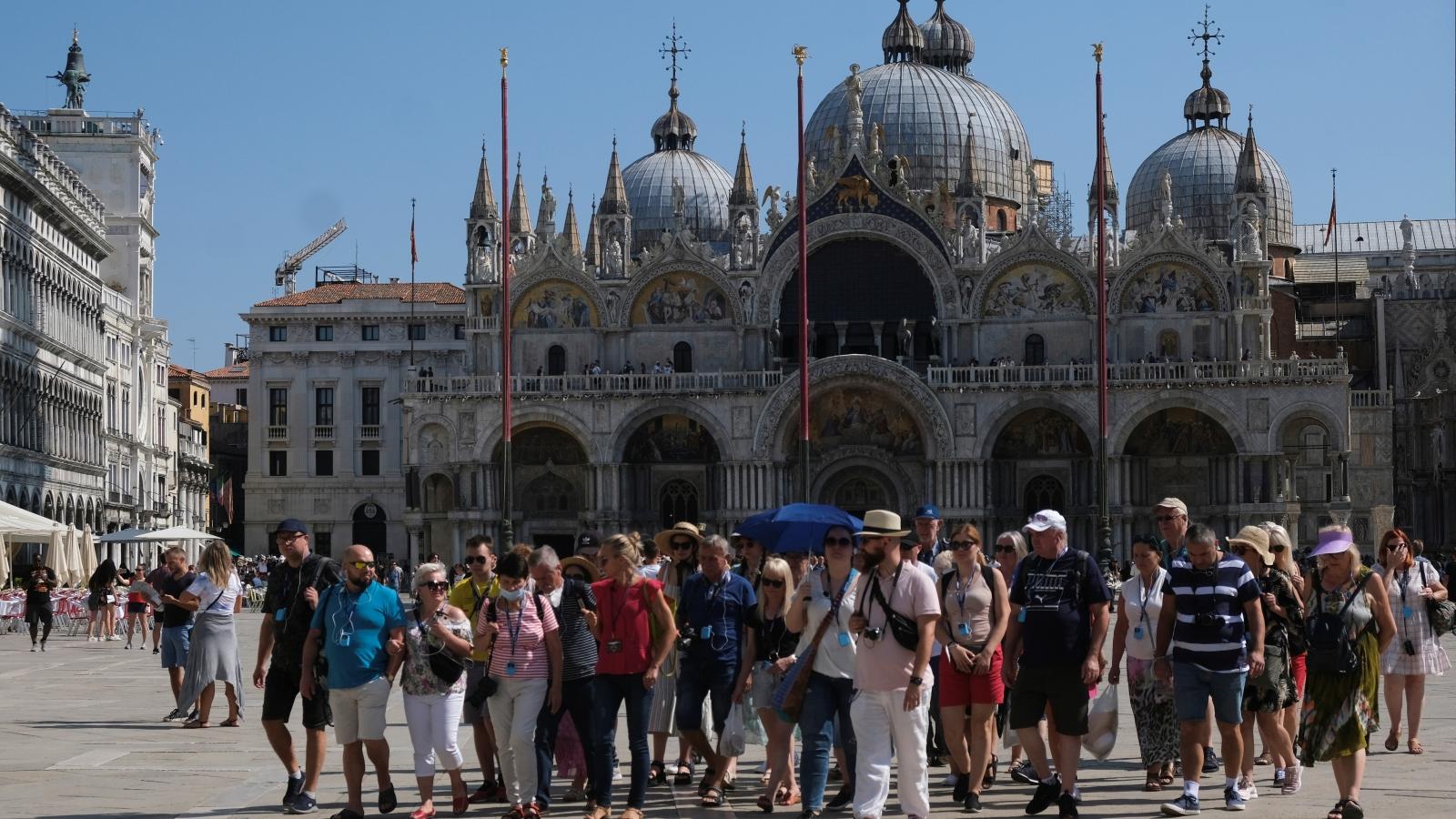 Venice kiểm soát du khách bằng loạt công nghệ hiện đại