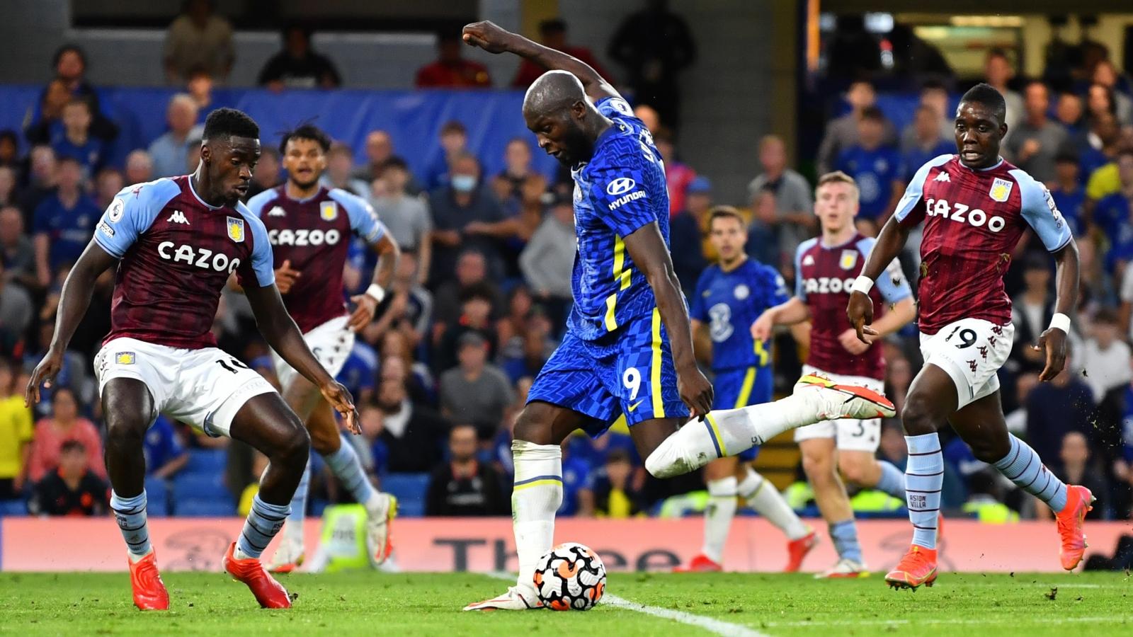 Lukaku lập cú đúp, Chelsea thắng dễ 3 sao trước Aston Villa trên sân nhà