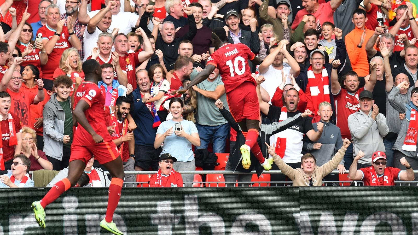 TRỰC TIẾP bóng đá Liverpool 1 - 0 Crystal Palace: Mane mở tỷ số