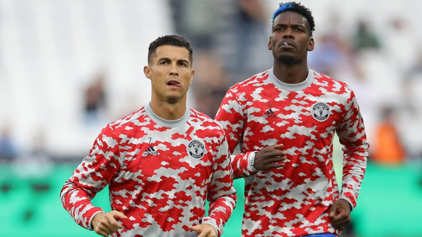 """TRỰC TIẾP bóng đá West Ham 0-0 MU: Pogba - Bruno """"tiếp đạn"""" cho Ronaldo"""