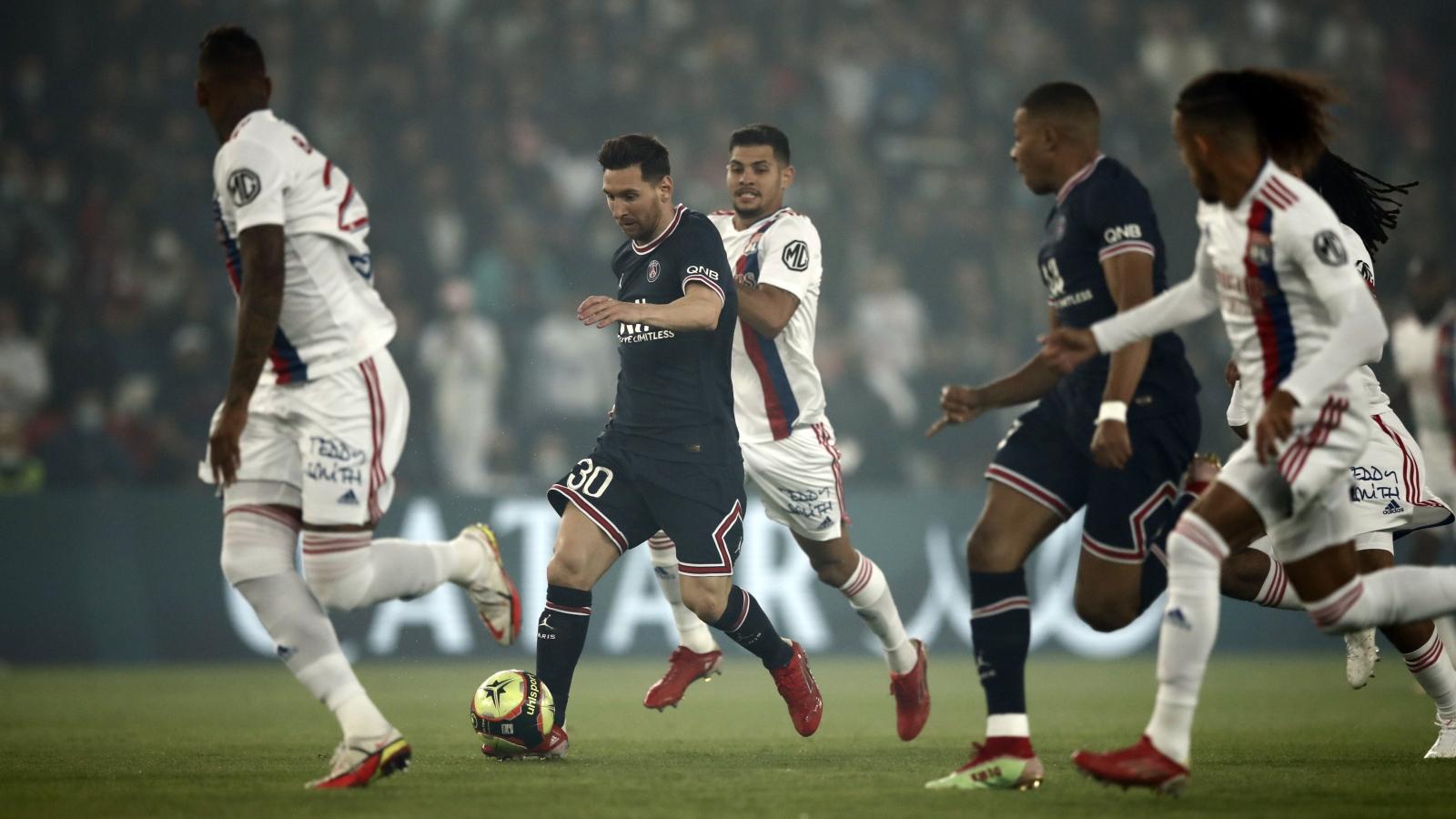 Trực tiếp PSG 0-0 Lyon: Niềm cảm hứng mang tên Messi