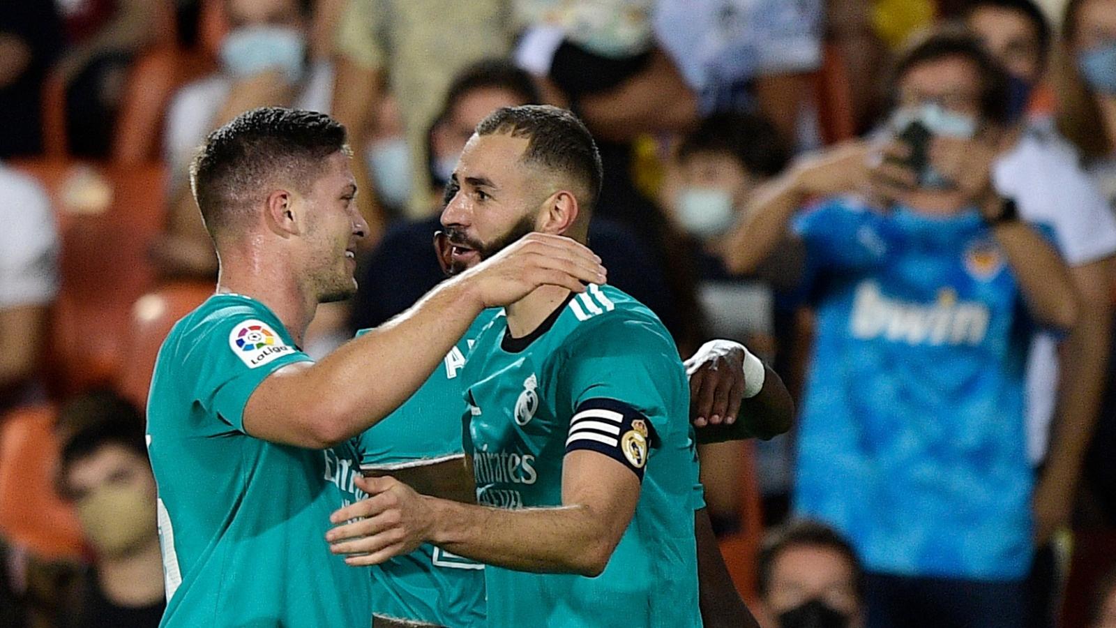 """Valencia 1-2 Real Madrid: """"Kền kền trắng"""" và 2 phút điên rồ ở Mestalla"""