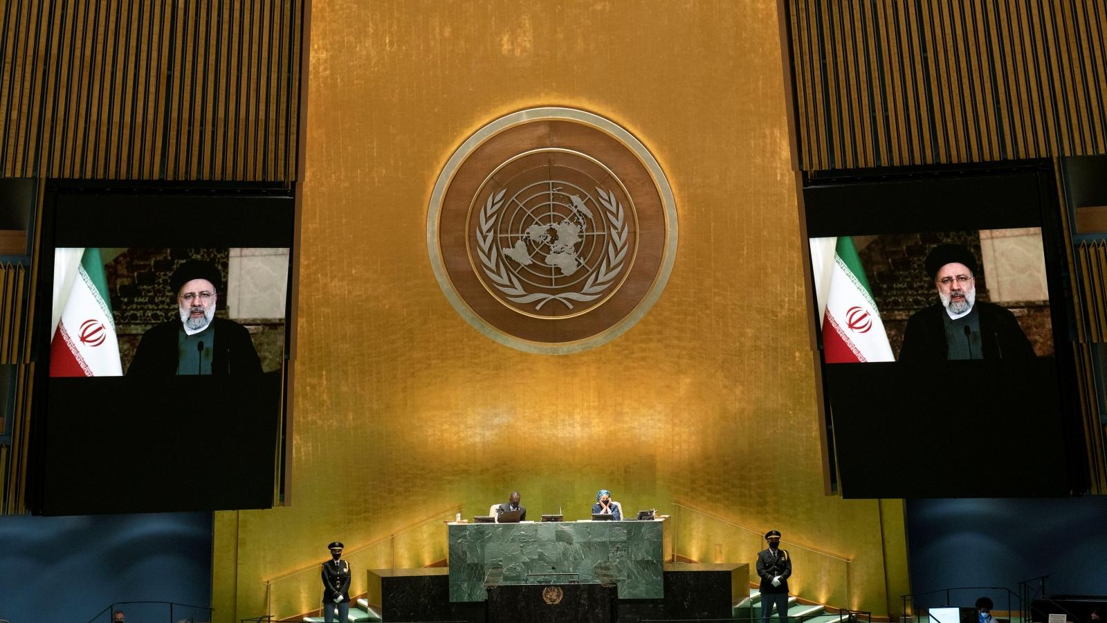 Tổng thống Iran chỉ trích các chính sách của Mỹ trước Đại hội đồng Liên Hợp Quốc