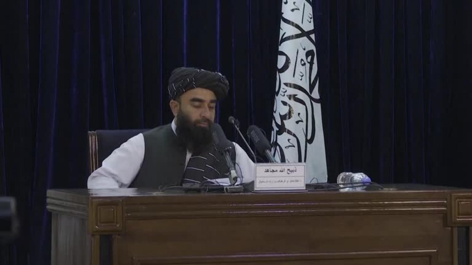 Taliban mở rộng Nội các ở Afghanistan, vẫn không có nữ giới
