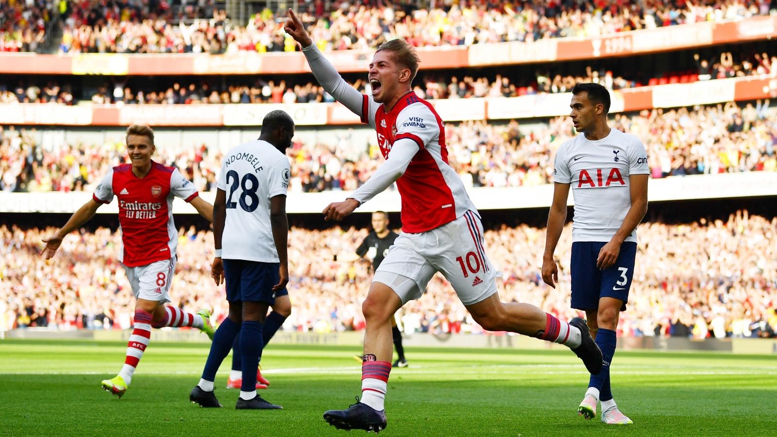 TRỰC TIẾP Arsenal 3-0Tottenham: Cơn mưa bàn thắng ở Emirates