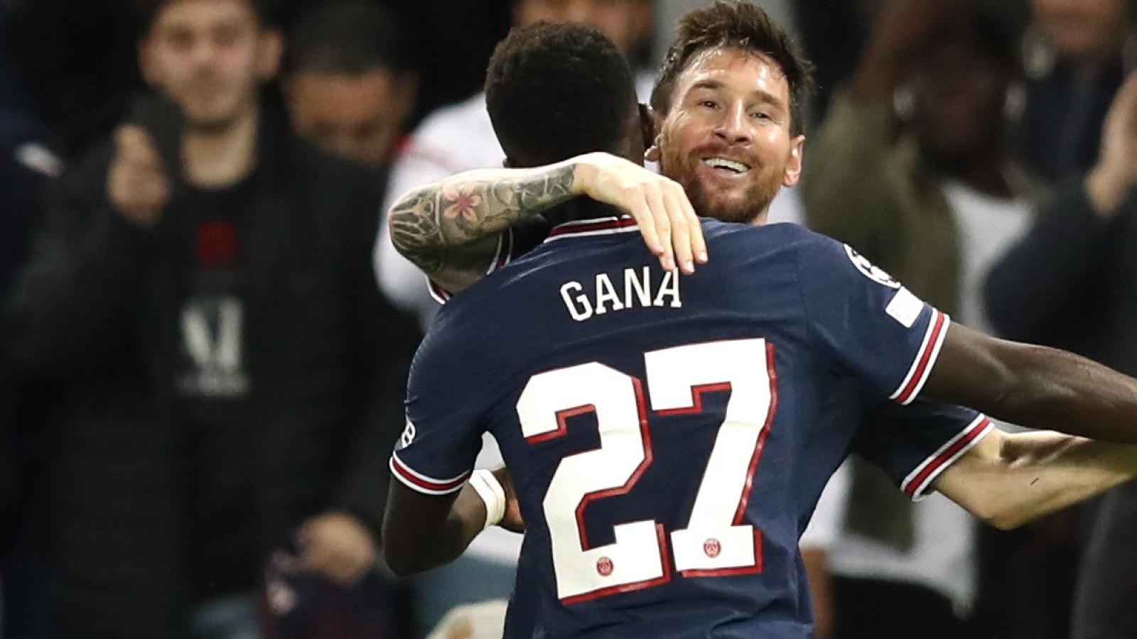 TRỰC TIẾP PSG 2-0 Man City: Mbappe kiến tạo, Messi ghi bàn