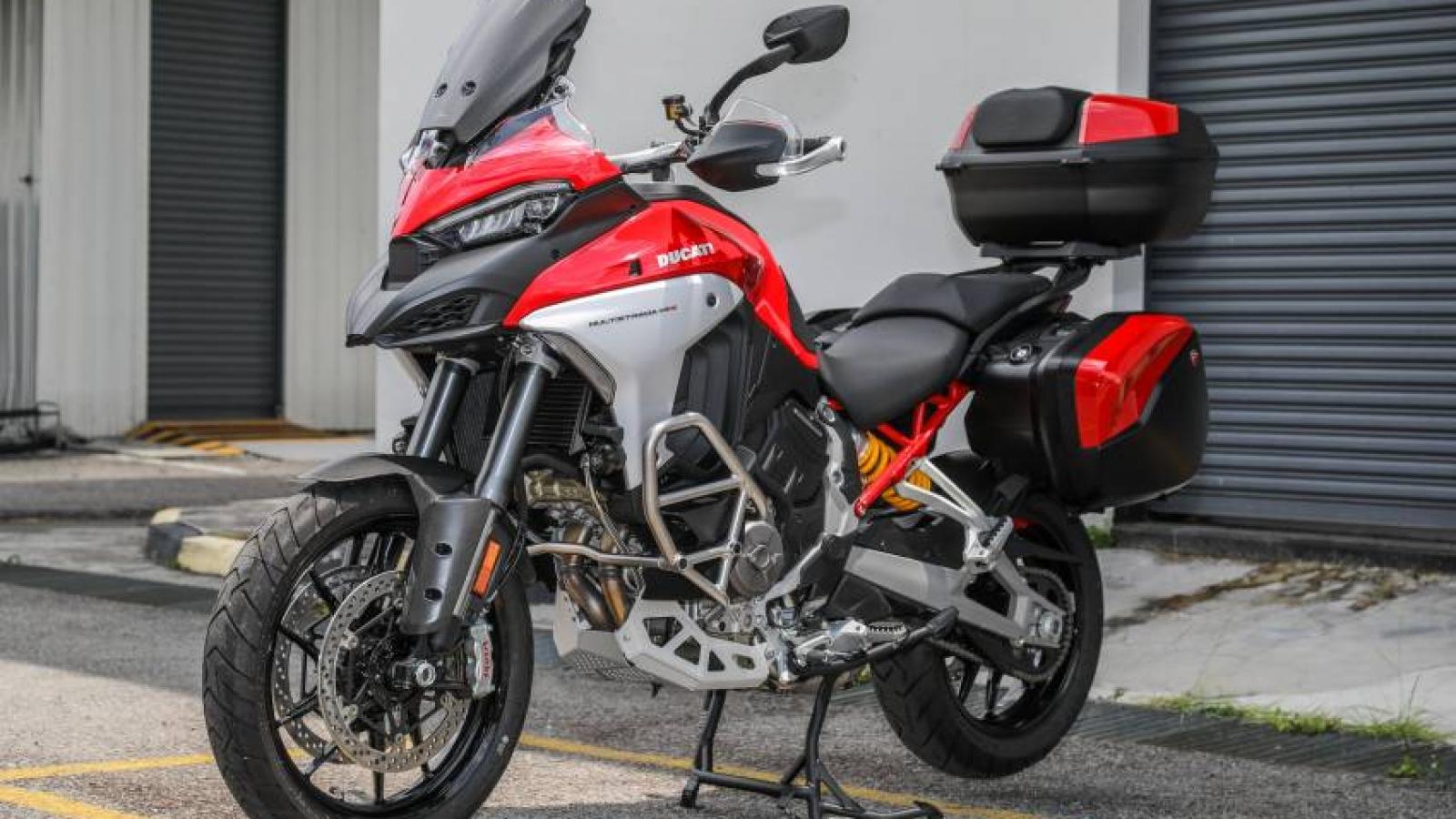 Bộ đôi Ducati Multistrada V4 và V4S ra mắt giá cao nhất hơn 800 triệu đồng