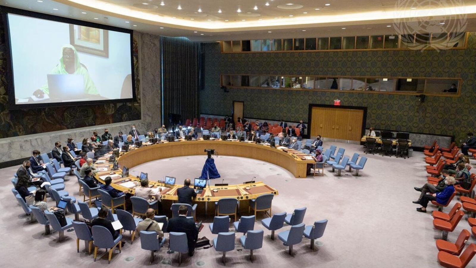 """Hội đồng Bảo an thảo luận mở về """"Tiến trình chuyển tiếp từ các hoạt động gìn giữ hòa bình"""""""