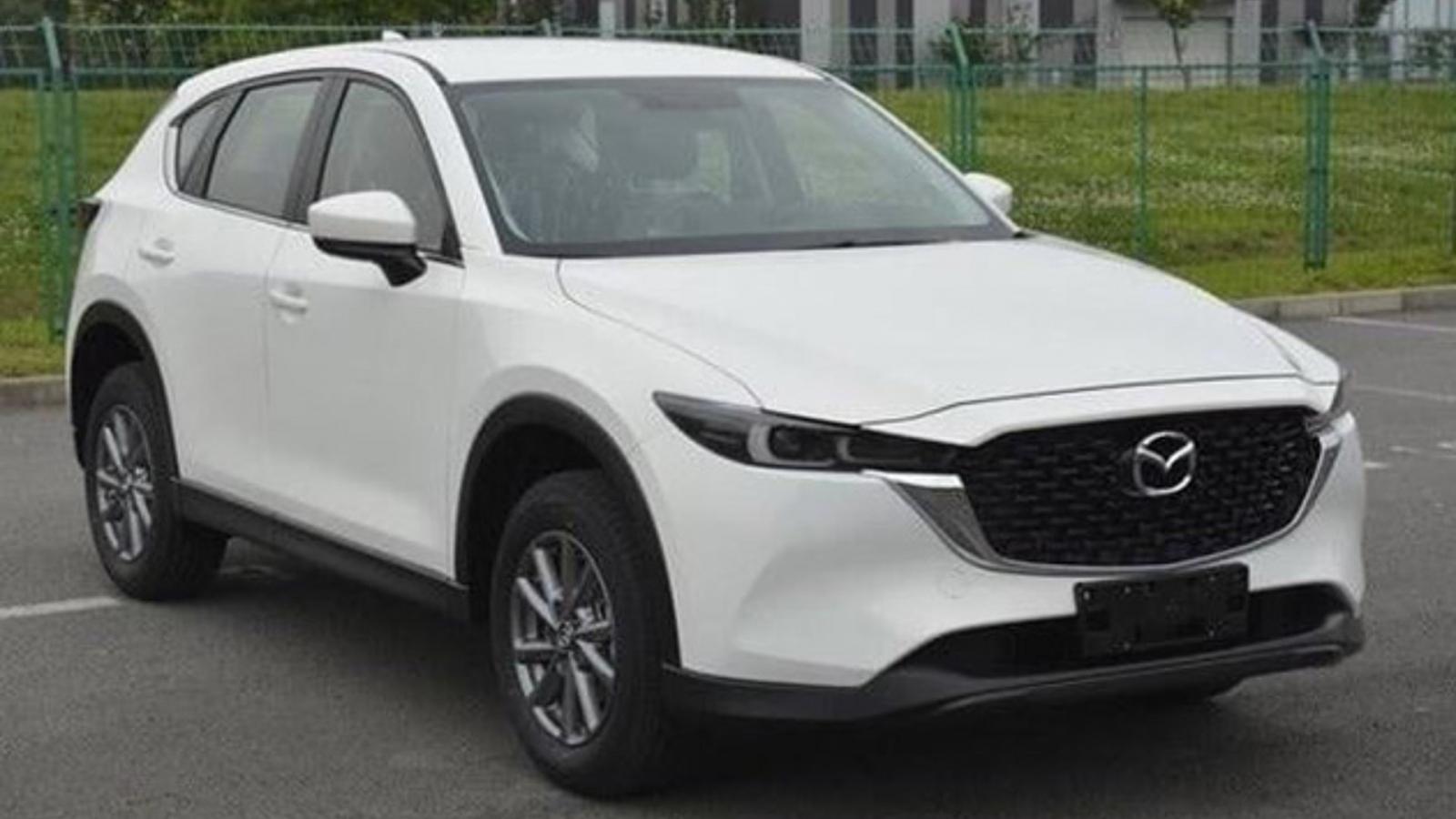 Lộ diện Mazda CX-5 phiên bản nâng cấp, sẽ ra mắt vào cuối năm?