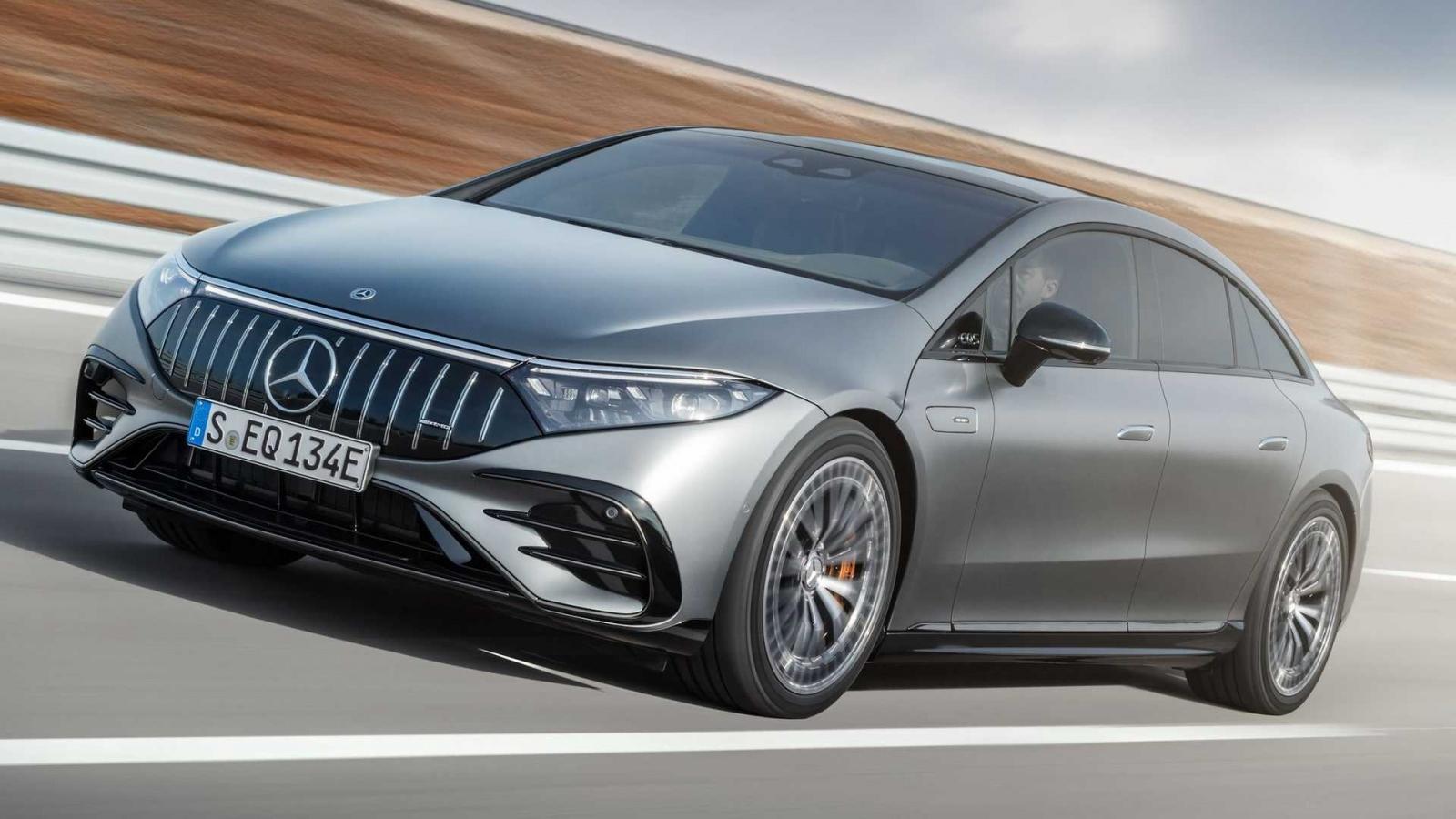 Cận cảnh Mercedes-AMG EQS 53 4Matic+ xe điện hiệu suất cao AMG