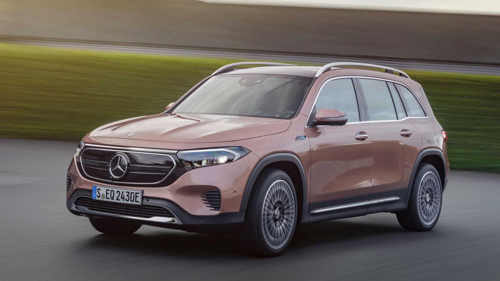 Crossover chạy điện Mercedes-Benz EQB ra mắt khách hàng tại Mỹ và châu Âu