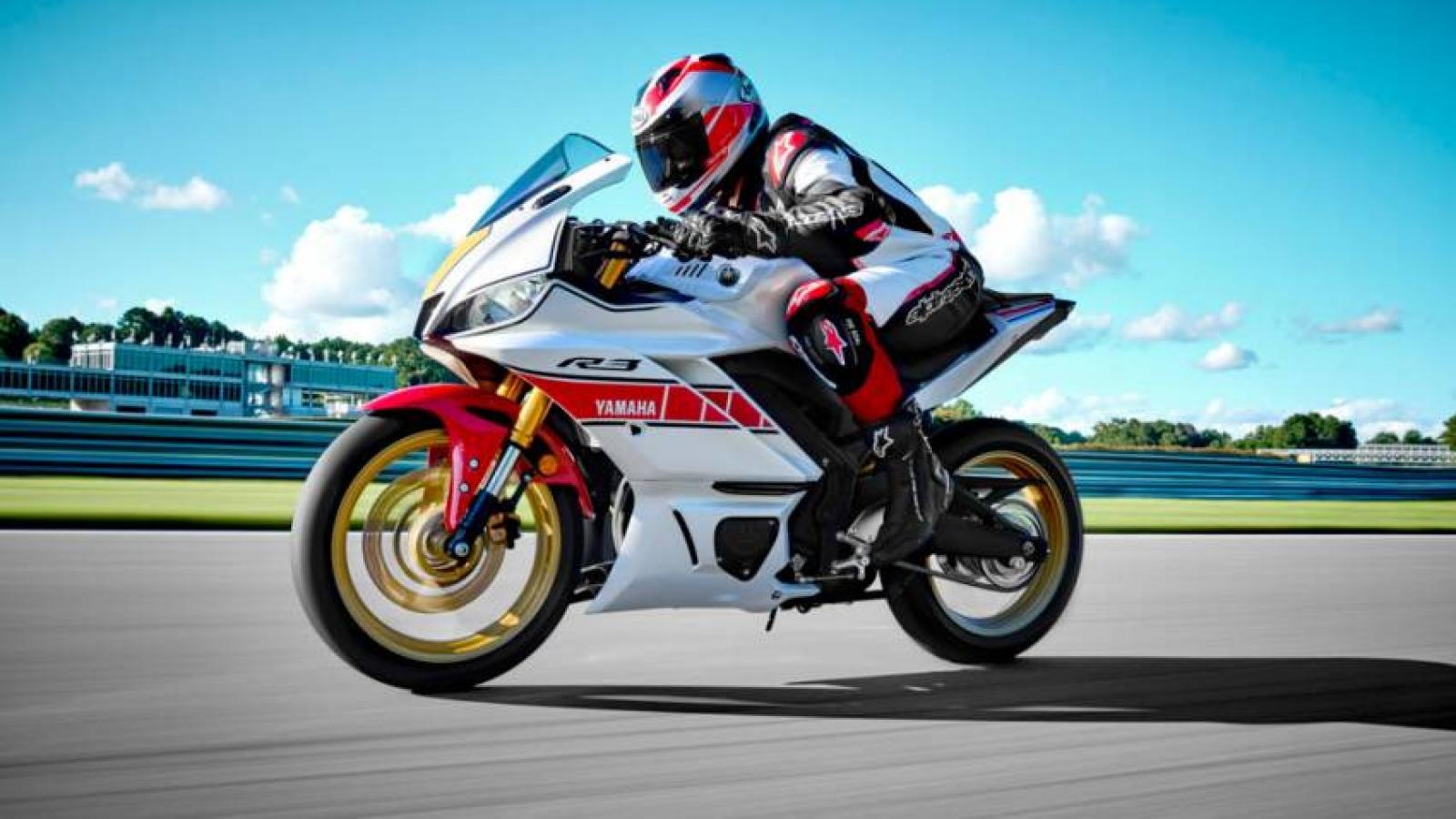 Yamaha R-series 2022 giới thiệu phiên bản World GP 60th Anniversary