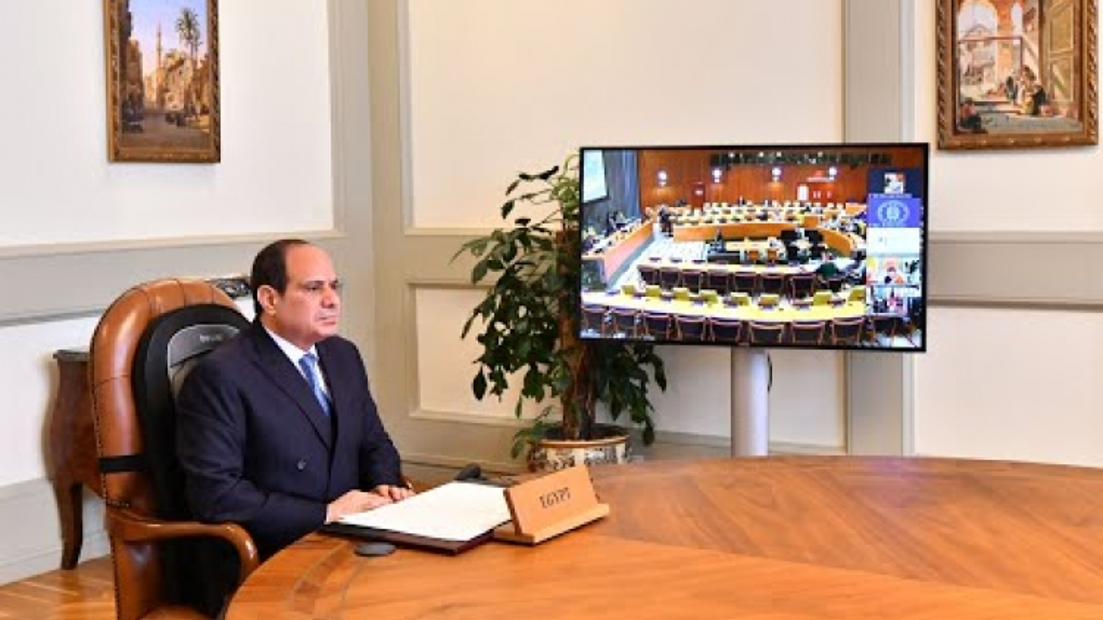 Tổng thống Ai Cập kêu gọi hạn chế xây dựng đập thủy điện trên các dòng sông quốc tế