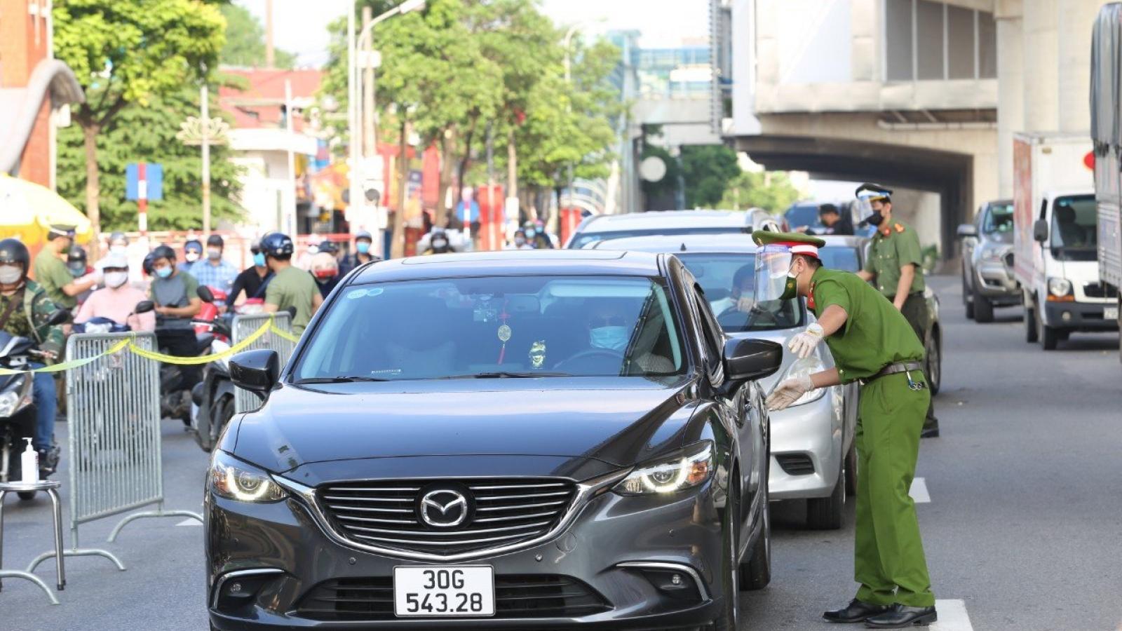 Hà Nội xử phạt 65 trường hợp vi phạm công tác phòng, chống dịch
