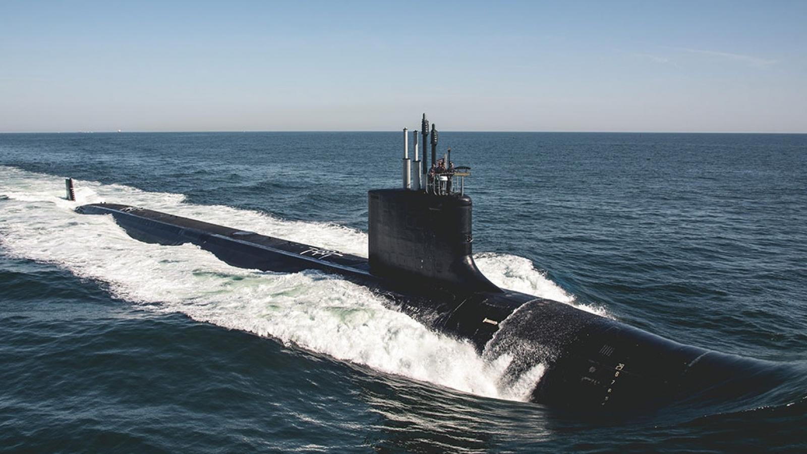 Liên minh AUKUS làm nóng cuộc đua tàu ngầm giữa Mỹ và Trung Quốc