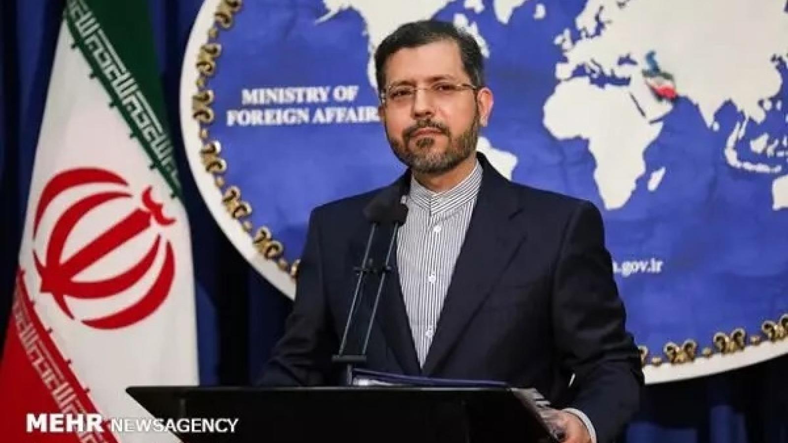 Iran lên án các lệnh trừng phạt của Mỹ với 4 quan chức nước này