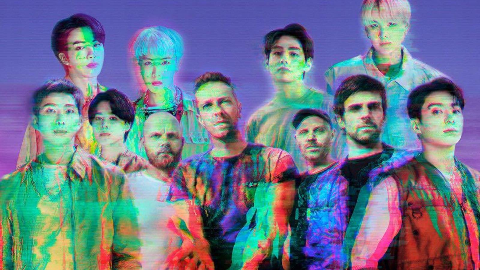 """BTS và Coldplay hát về tình yêu không ranh giới trong """"My universe"""""""