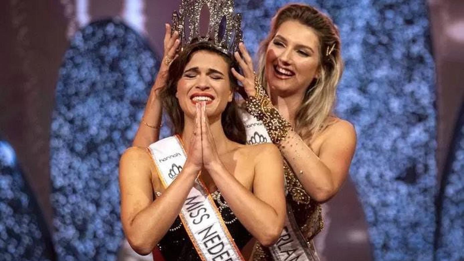 Tân Hoa hậu Hoàn vũ Hà Lan 2021 bị nhận xét giống người chuyển giới