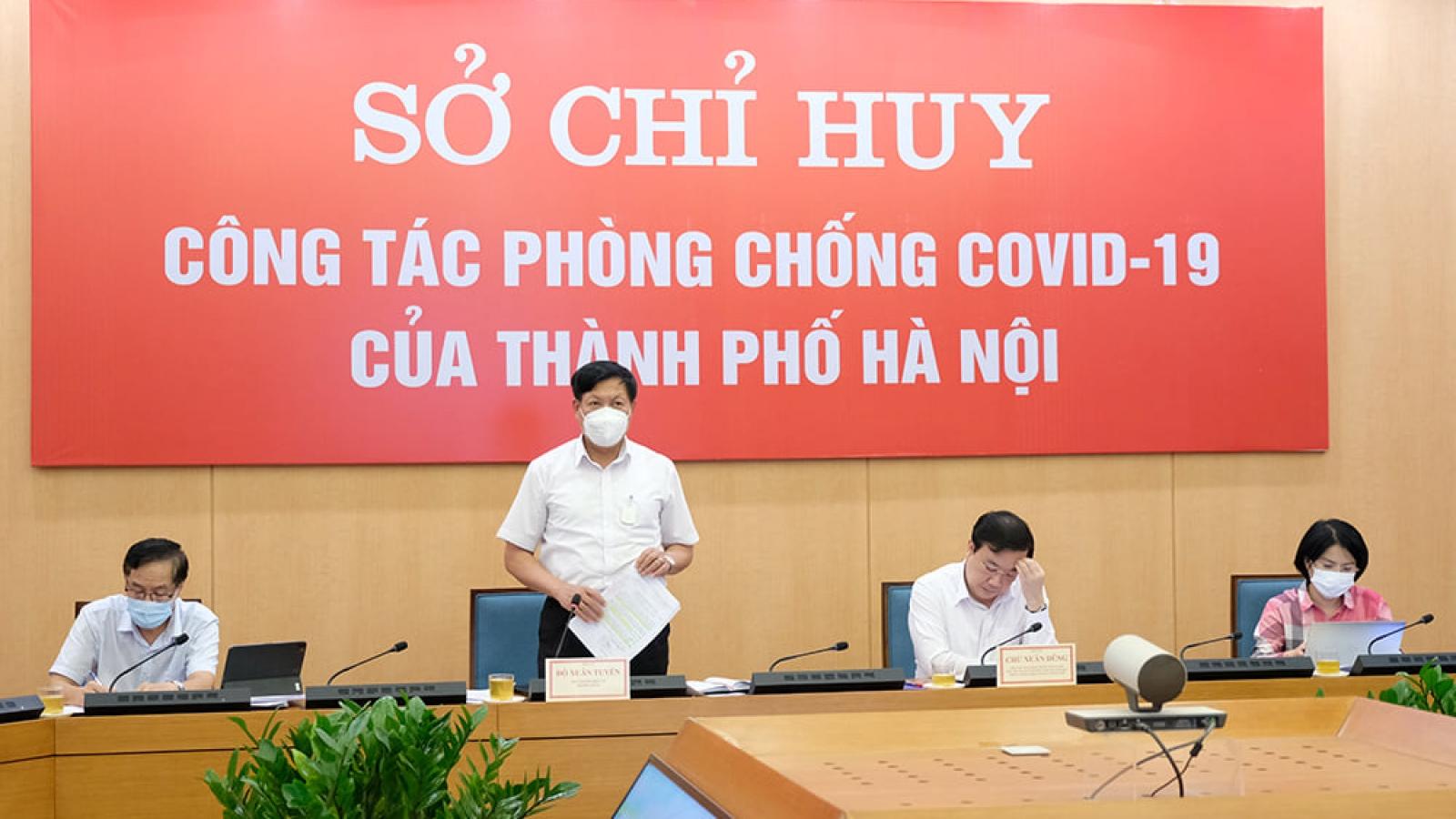 """Bộ Y tế: """"Hà Nội cần xây dựng lộ trình gỡ bỏ phong tỏatừng khu vực"""""""