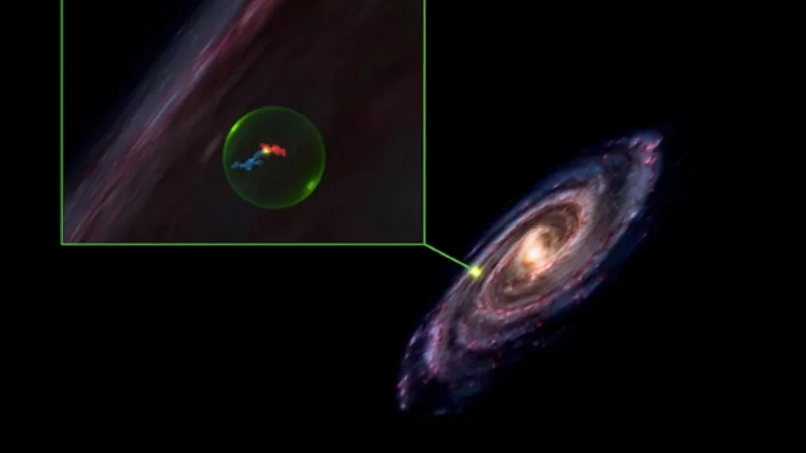 Phát hiện khoang khổng lồ bí ẩn rộng 500 năm ánh sáng trong Dải Ngân hà