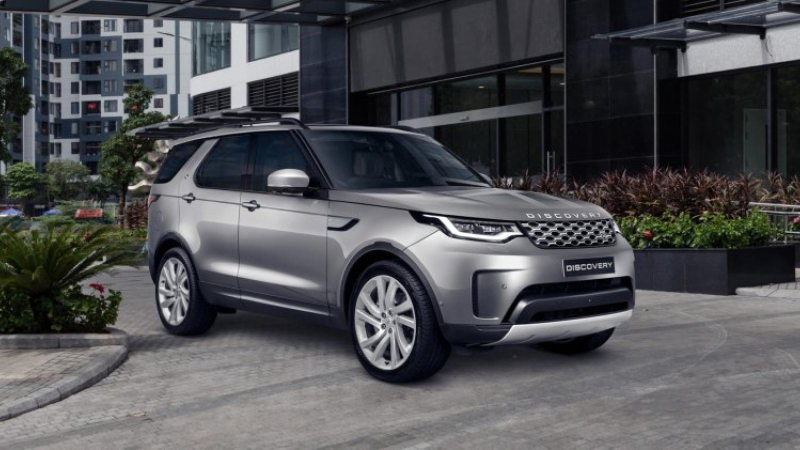Land Rover Discovery bản nâng cấp chốt giá từ 4,5 tỷ đồng