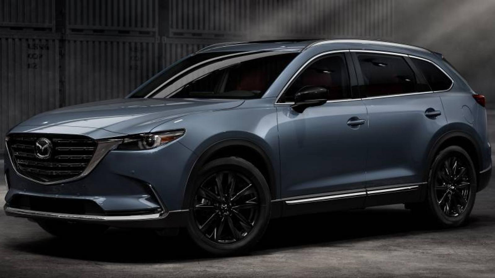 Mazda CX-9 2021 ra mắt với những nâng cấp mới về nội thất