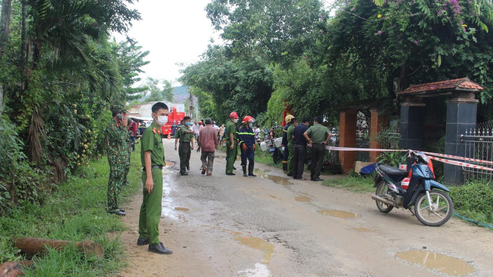 Nổ lớn trong nhà dân ở huyện Tiên Phước (Quảng Nam), 2 người tử vong