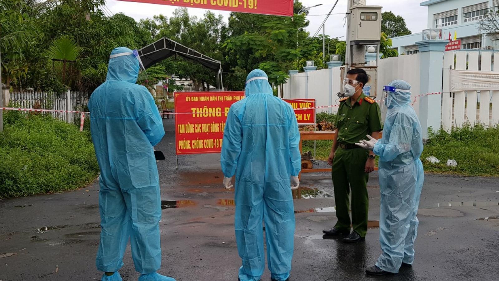 Công an An Giang thực hiện lời hứa dập dịch tại An Phú và Phú Tân