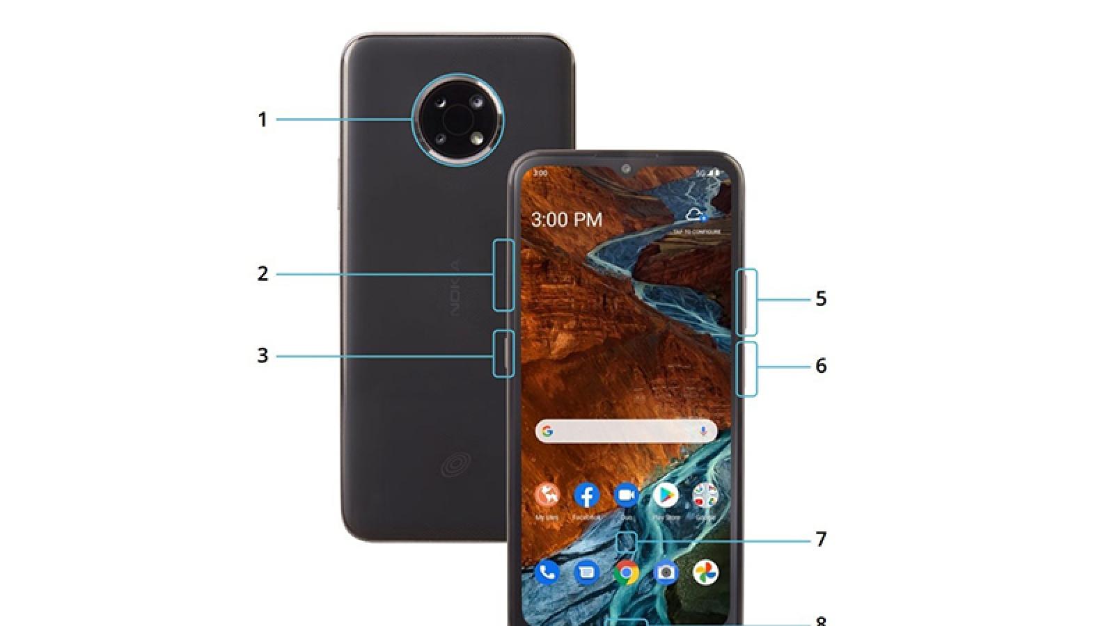 Nokia G300 5G lộ diện hình ảnh và thông số kỹ thuật