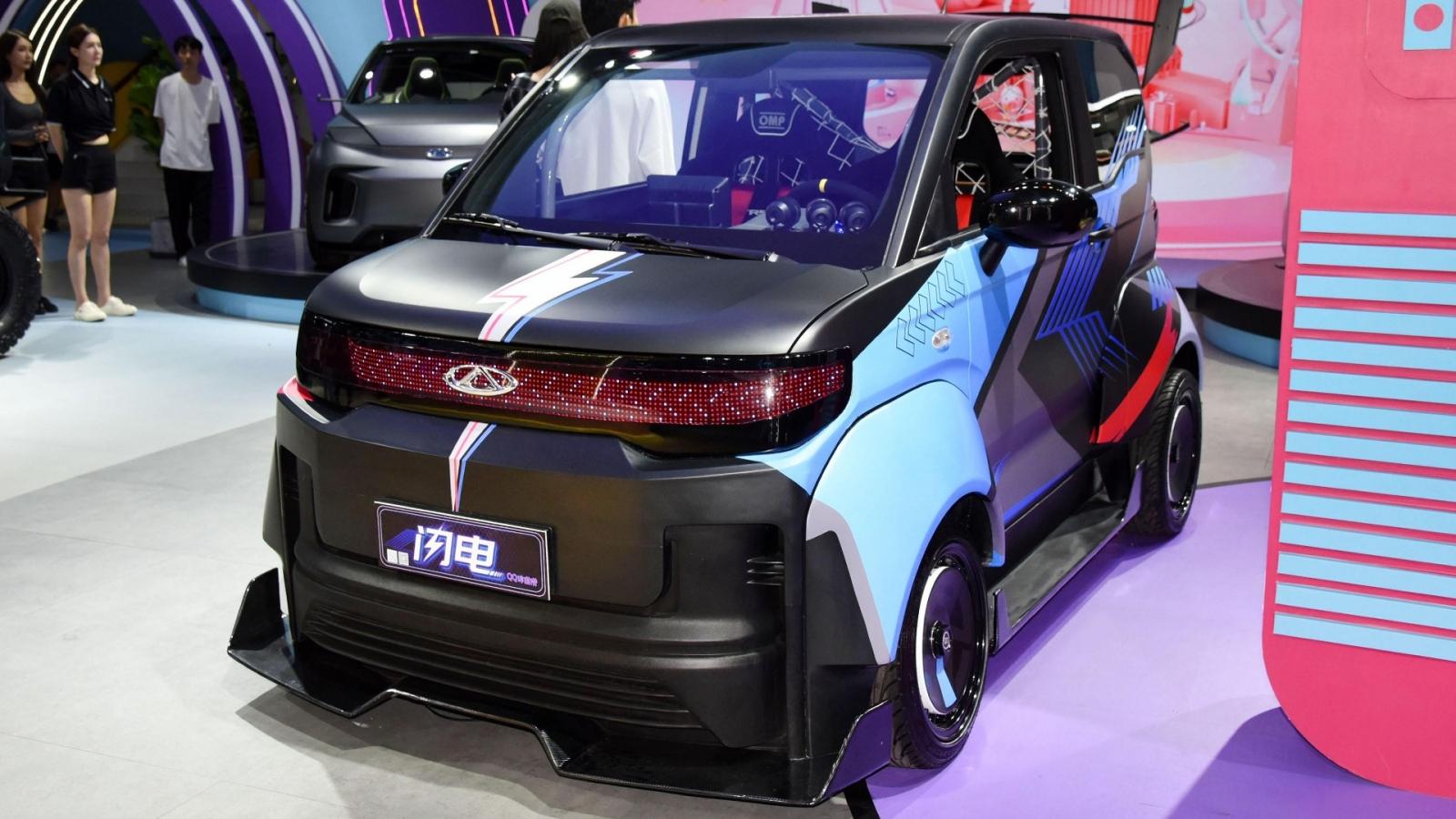 """Những chiếc xe """"lạ"""" nhất Triển lãm ô tô Chengdu 2021"""