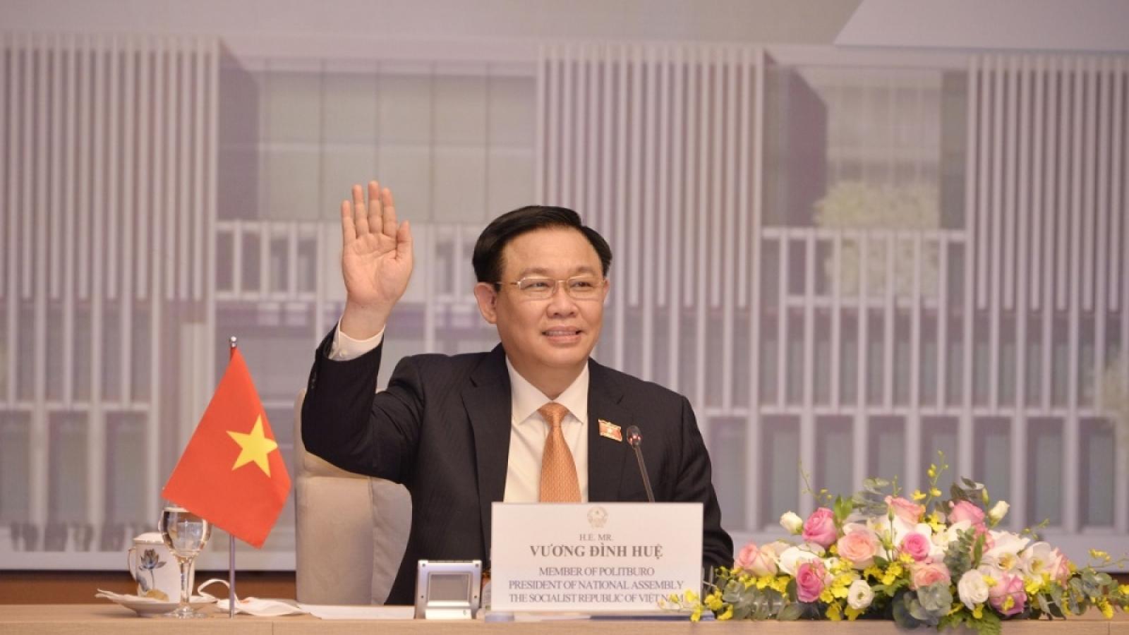Chủ tịch Quốc hội làm việc với EC/EU thúc đẩy ngoại giao nghị viện, ngoại giao kinh tế